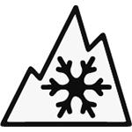 Three Peak Mountain Snowflake